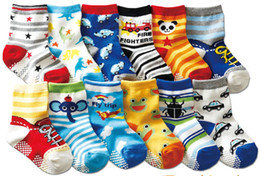kids socks baby 1-3 years young children new born for learning walk animal logo panda duck mouse