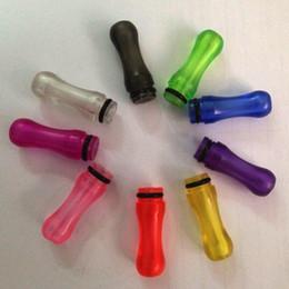 Descuento vivi nova barato CHEAP EGO Plastic Drip Tips Boquilla Transparente Colorido para EE2 / Vivi Nova / DCT / T4 / 510 Cigarrillo electrónico Clearomizer más barato ecig
