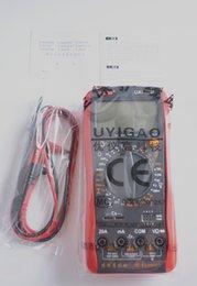 Wholesale 2015 HOT SELLING UA9205N Digital Multimeter Black Red AC DC Volt Amp Testing Digital Multitester by singapore post