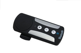 Wholesale 2016 Hot Sale Abs New Sale Oem cm Handsfree Bluetooth Car Kit Manufacturers Trade Paragraph L Hands free Phone Visor System