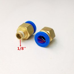 Wholesale 20pcs mm Tube Thread Pneumatic Fitting Quick joint connector