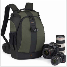 Wholesale Lowepro Flipside AW Pine Green Photo Camera Shoulders Backpack Padded Soft Waterproof Bag Case with Rain Cover for Canon Nikon Sony