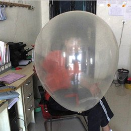 Wholesale 36 inch Large Latex Clear Balloon New Year Wedding Birthday Party Decoration Photography Supplier Hot Sale