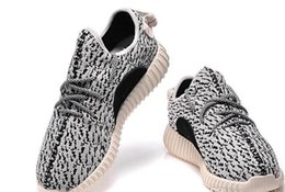 Wholesale Mens Shoes Kanye West Boost Athletic Boots Ankle Boots Low cut Shoes Sports Boot Sneakers