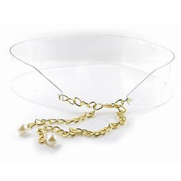 Wholesale Woman Plastic belt Ladies Adjustable chain cummerbunds Waist decoration N329 Cintos cinturon New arrival Brand new