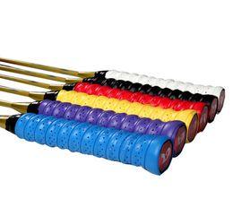 Wholesale Long Absorb Sweat Tennis Badminton Racquet Handle Breathable Holes Grip Tape