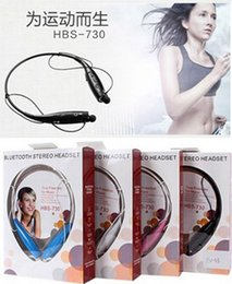 Wholesale 2015 Cheap New arrival HBS Wireless Stereo Headset HBS Bluetooth Earphone Music Sport headphone For iPhone Samsung DHL