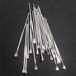 Wholesale Wax dabber tools ego evod wax atomizer cig stainless steel dab tool titanium nail dabber tool earpick dry herb vaporizer pen dabber tool