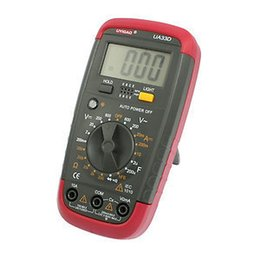 Wholesale Volt Amp Ohm Meter UA33D Digital Multimeter with Probe Leads