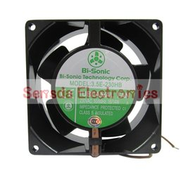 Brand new Bi-Sonic 3.5E-230HB 230V high temperature 92*92*38mm case cooling fan