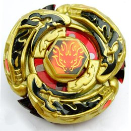 Wholesale BEYBLADE D RAPIDITY METAL FUSION Beyblades Toy Set L Drago Destructor Destroy Gold Armored Metal Fury D Beyblade