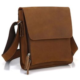 Wholesale-Genuine Leather Men Messenger Bag Cowhide Shoulder Bag Business Bag for Men Business Handbag