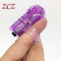 Wholesale Mini Finger Vibrator G spot Clitoral Vagina Nipple Massager Vibration Full body for Women Sex Product DX488