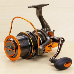 Wholesale 2016 New Long Range Casting Fishing Reel Distant Wheel Series Spinning Reels Bearing Big Size For Sea