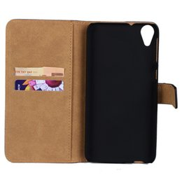 For HTC Desire 820 Texture Genuine Wallet Leather Case Cover