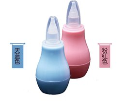Wholesale Nasal suction device Infant nasal suction pump Cold nose cleaner Neonatal Tip Cleaner Heating Pump Silicone Infant Nasal Aspirator