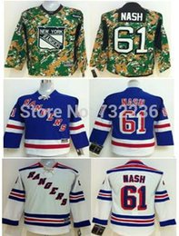 Youth New York Rangers Hockey Jerseys #61 Rick Nash Jersey Cheap Jerseys