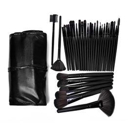 Wholesale Brand Professional Bag Of Makeup Set Gift Kits Facial Make Up Sets Cosmetics Baby Lipstick Powder Brush Brushes Case