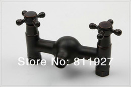 Wholesale mixer antique high latest new fashion style orb black color oil rubbed bronze bathroom shower faucet set steel laundry tub