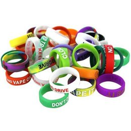 MOD Protect Ring 18650 22mm Vape Bands Mechanical Mods Non Slip Decorative and Protection Resistance Mod RDA Rings