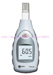 Wholesale TECMAN TM820M Industrial temperature and humidity meter handheld high precision electronic hygrometer TM M