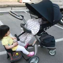 Wholesale Sun shade baby stroller sunshade Canopy Cover For prams and strollers car seat buggy pushchair Pram Car Sunshade Cover PA873467