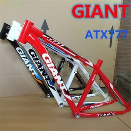 Wholesale GIANT Aluminum Alloy Bicycle Frame Custom Bike Frames Mountain Bikes Frames ATX777 Brand Quality Road Bikes Frame A3