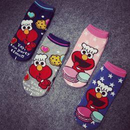 Wholesale pairs Dreamer original short ankle Hosiery Slippers socks sox Sesame Street hit Beat Beans Cazzle Bubble Spinner
