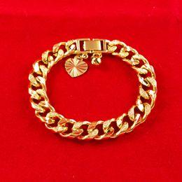 New charm bracelet, mens womens bracelet chain link 210mm  10mm 18k ROSE GOLD FILLED Herringbone CHAINS XMAS GIFT ,hot sales