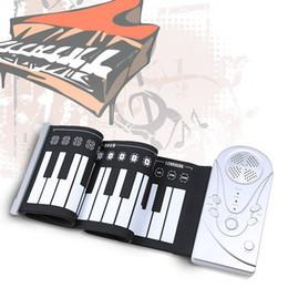 Portátil 49 teclas Electronic Piano flexible diseño único Roll Up Piano durable para teclado de piano pista $ 18Nadie silicona de goma suave soft keyboard piano 49 deals desde piano del teclado suave 49 proveedores