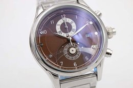 High Grade Watches Silver Stainless Bezel Brown Dial Watches The New Concept Fashion Watches and Mens Watch
