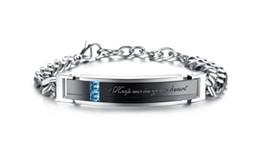 Newest Health Stainless Steel Bracelets For Women Men Fashion Jewelry Diamond Titanium Bracelet Zircon Student Couples