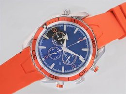 Hot sale classic mechanical automatic watches orange bezel rubber bracelet luxury watch men wristwatch 306