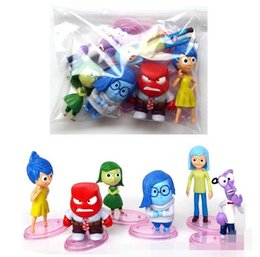 Wholesale Inside Out Action Figures Collection Inside Out Figurine Set Inside Out PVC Figure Toys