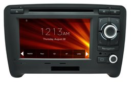 Wholesale AS Dedicated For Audi TT Wince Car DVD GPS Navigation din6 quot P HD G CPU support lossless music Virtual disc TB