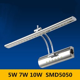Wholesale 5W W W LED Lens Headlight Led Wall Lamps Mounted Bathroom Bedroom Cabinet Mirror Light Led Wall Lamp SMD Chips Power Driving Switch