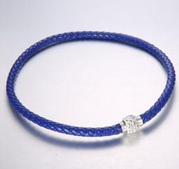 Cristales checo pulseras en Línea-100pc liberan el brazalete magnético de las pulseras del corchete del cristal de la arcilla del pun ¢ o cristalino checo de la armadura de MIC Shambhala 10 colores