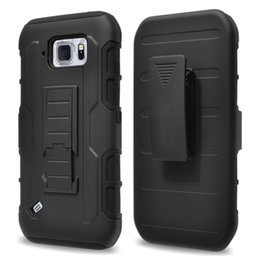Belt Clip Holster Future Armor Case Hybrid Combo Impact Rugged Cases Cover For Samsung Galaxy S5 S6 Active G890 S7 S7 Edge S8 S8 Plus