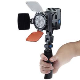 Pro 6000K / 3000K LED4 12W 600LM Dimmer 4 caméscope à caméra LED Lampe vidéo DV à partir de led lumières caméra vidéo fournisseurs