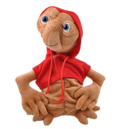 Wholesale Toys Terrestrial Film quot Soft w red coat Stuffed Plush Toy Doll Rare ET Extra