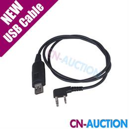 Wholesale Walkie Talkie USB Radio Programming Cable for Radio Transceiver BAOFENG UV R RE UV82 BF S UV b5 UV b6