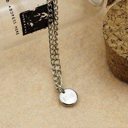 Wholesale mgm long chain BTOB SEO EUN KWANG Lee Min Hyuk CHANG SUB LIM HYUN SIK JUNG IL HOON PENIEL YOOK SUNG JAE circle pendant necklaces
