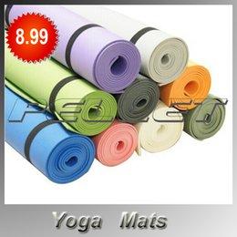 Wholesale Anti skidding Yoga Mat EVA mm Slip resistant Thickening Broadened Yoga Mat