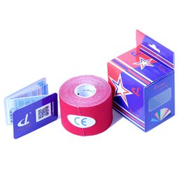Wholesale Kintape Cotton Fabric Multiple Color Medical Taping cmx5m Sports Safety Tape High Quality Athletic Accessories DL030203