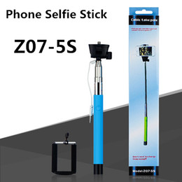 Wholesale 2015 best sale Mobile phone shaft wire control take photo by yourself shaft Handheld autodyne artifact camera kit autodyne