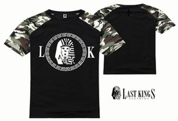 s-5xl free shipping new style last kings t shirt street style Rock and roll printing men clothing