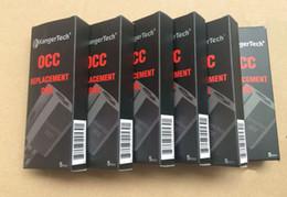 1:1 quality Kanger Subtank Coil OCC Coils Subtank Replacement Coil OCC SUBOX mini nano Plus Atomizers 0.5ohm 1.5ohm 1.2ohm for Subtank OCC