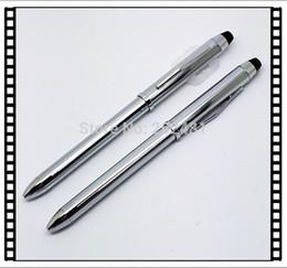 El envío por mayor-Libre XB013B Suministro de regalo de promoción bolígrafo giro brillo bolígrafo de plata metálica líquidamente gratuito Tinta metal elegante desde bolígrafo de giro fabricantes