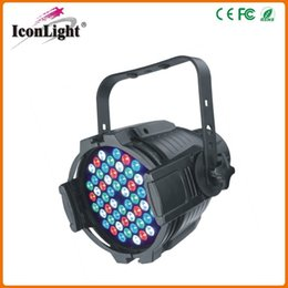 Free Shipping Wholesale Price High Power 54PCS*3W LED Par Light DMX Stage LED Par Can for Stage Lighting
