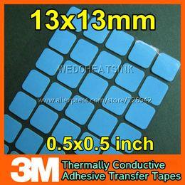 Wholesale mm M Highly Thermal Aluminium Heatsink Adhesion Adhesives Tapes Pads
